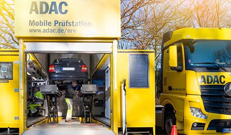 ADAC Mobile Prüfstationen