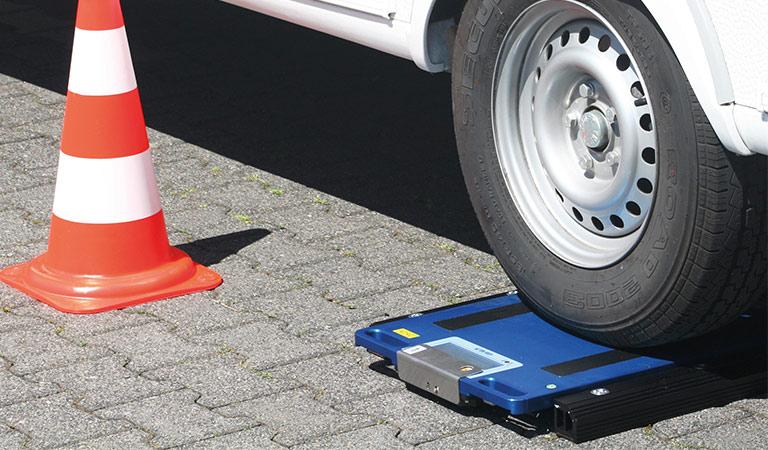ADAC Verwiegung von Wohnwagen/Wohnmobil