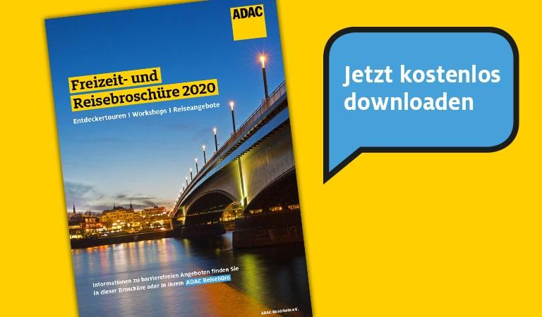 ADAC Freizeit- und Reisebroschüre 2020